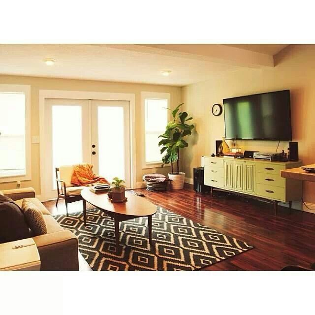 Casual living room  Decor Inspiration  Pinterest