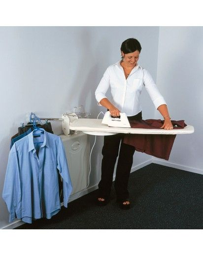 fold out ironing board laundry room ideas pinterest. Black Bedroom Furniture Sets. Home Design Ideas