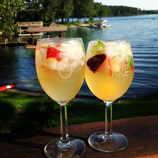 Stone Fruit Sangria | adult | Pinterest