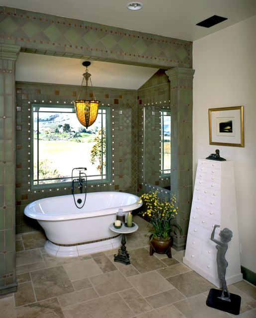 Craftsman style bathrooms