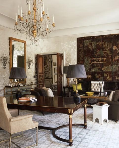 Elegant home office ...  My Home Decor  Pinterest