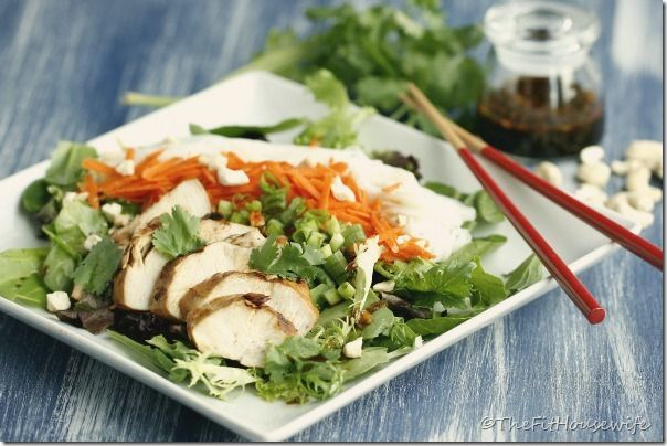 thai-chicken-noodle-salad | For the kitchen and my tummy | Pinterest