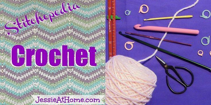 Stitchopedia-Crochet-Category crochet Pinterest