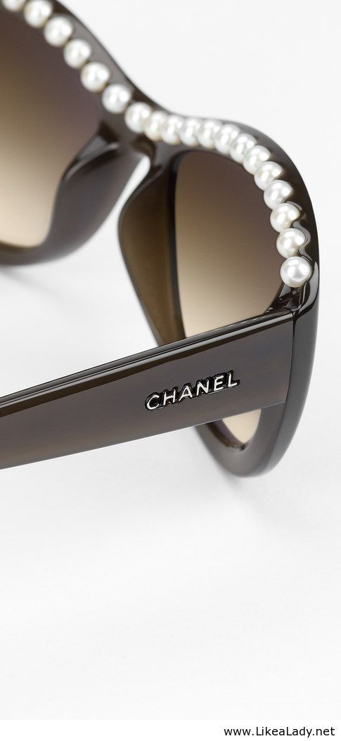 Chanel Eyeglass Frames With Pearls : Chanel sunglasses My Style Pinterest