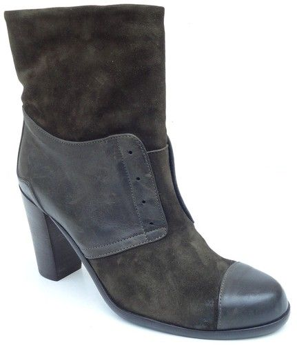 Alberto fermani fe7469 women s boots suede miltary green made in italy