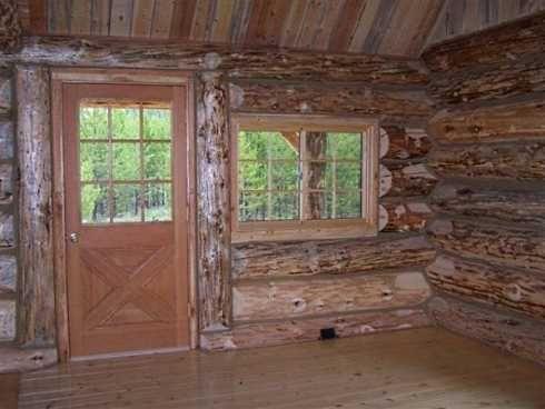 Log Cabin Style Mobile Homes Mobile Home Living Pinterest