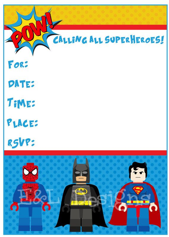 Lego Bday Invitations with nice invitations template