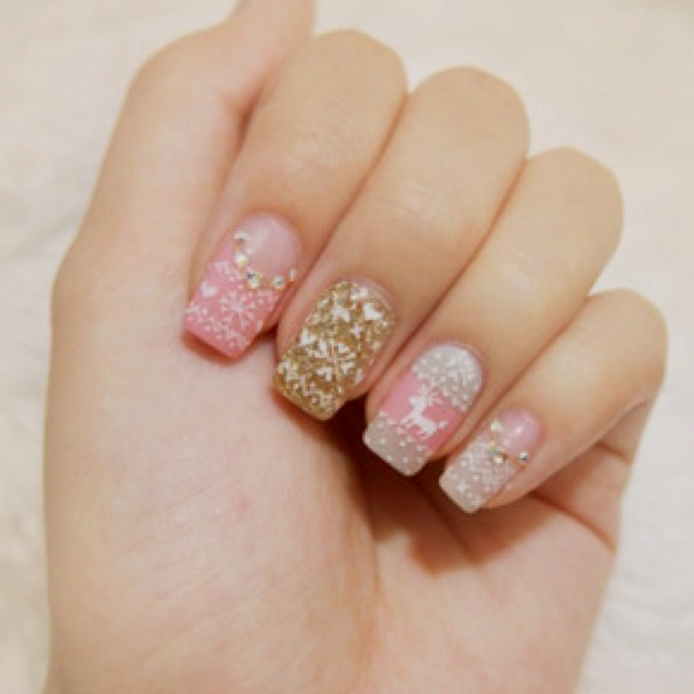 Watch Cable Knit Sweater Nail Art Trend Is So Perfect for Winter video