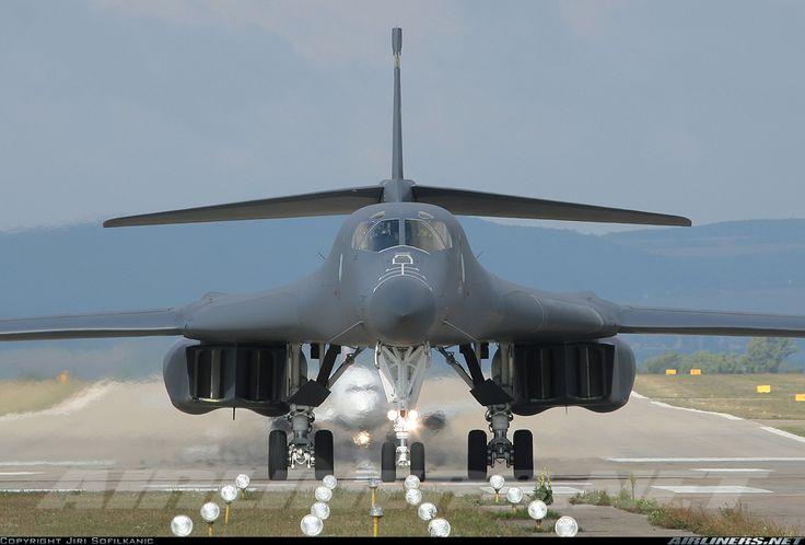 USA - Air Force  Its a Rockwell B-1B Lancer  @Brno - Turany (BRQ / LKTB)  Czech Republic