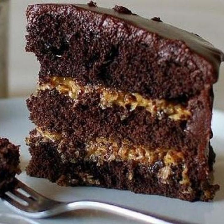 Inside-Out German Chocolate Cake Recipe | Cakes & Desserts | Pinterest