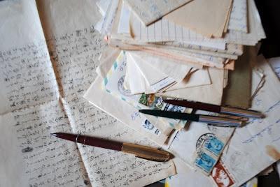 antigas cartas