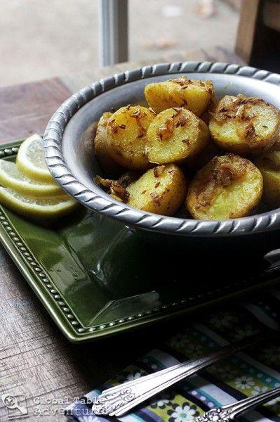 Cumin Seed Potatoes | Batata b'kamun | Recipe