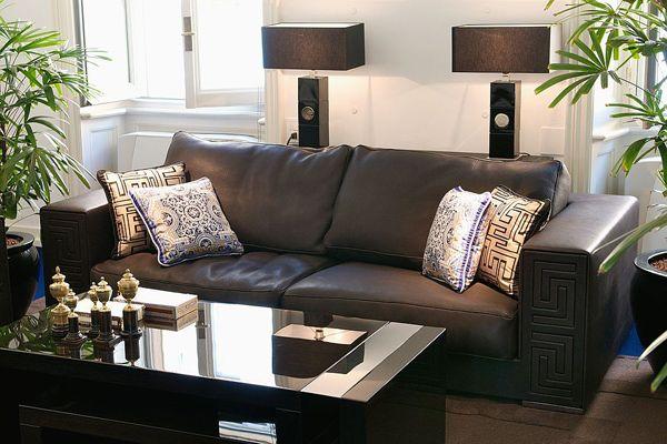 Versace sofa collection new lomond lounge living rooms pinterest - Versace living room design ...