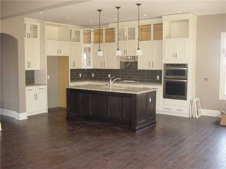 kitchen cabinets to the ceiling kitchen pinterest
