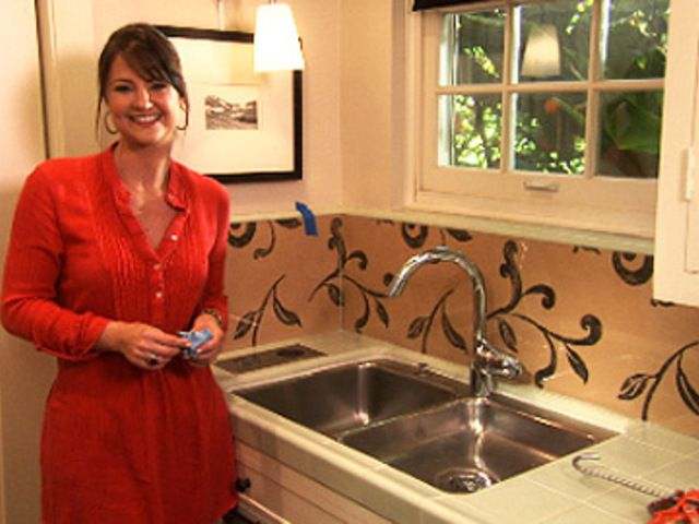 video on how to use plexiglass and wallpaper backsplash revamp your