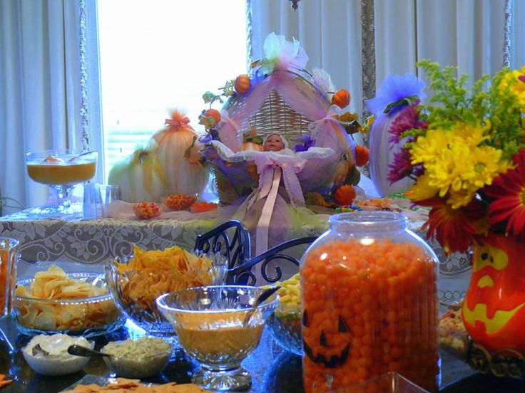 food for halloween theme baby shower baby ideas pinterest