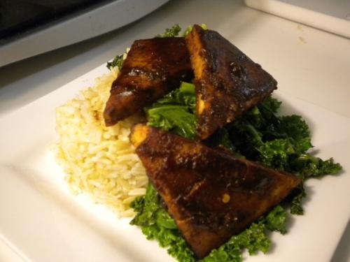 Sesame-Miso Glazed Tofu | Food I Want to Eat: Tofu | Pinterest