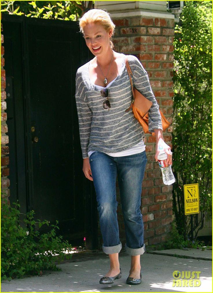 Katherine Heigl simple look