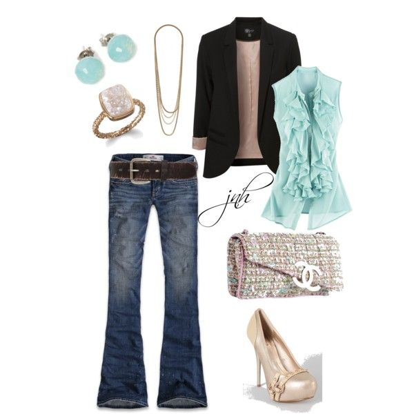 """outfit"" by jill-hammel on Polyvore"