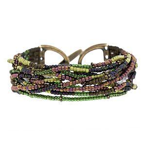 Eggplant Delight Bracelet | Jewelry Making | Pinterest