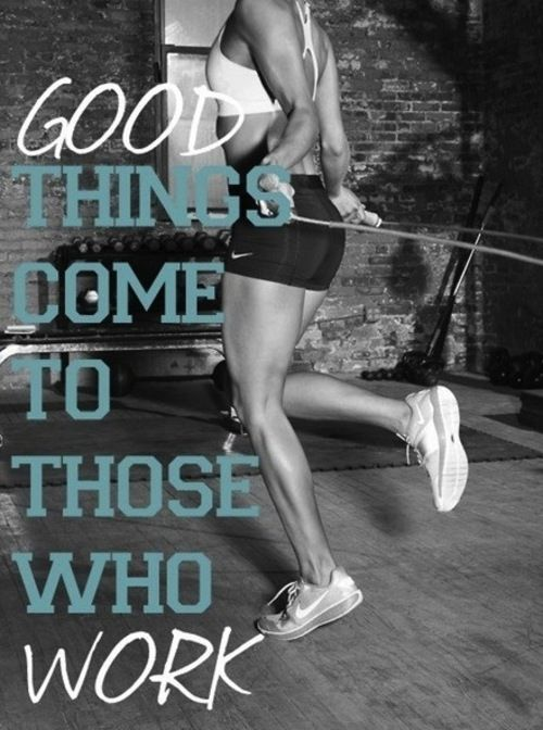 Inspirerende Fitness Quotes - Girlscene