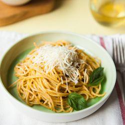 Spaghetti with Pesto Trapanese | Pizza | Bread | Pasta/Noodle | Pinte ...