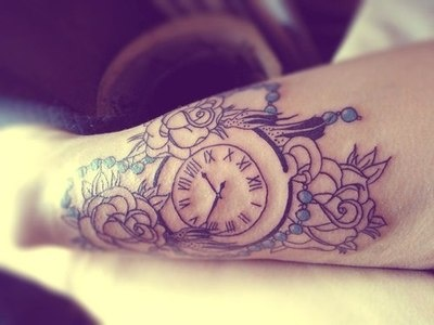 Top stopwatch tattoo rose images for pinterest tattoos for Stop watch tattoos