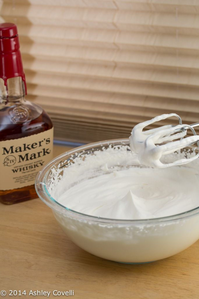 Bourbon Whipped Cream | Fat Girl Heaven | Pinterest