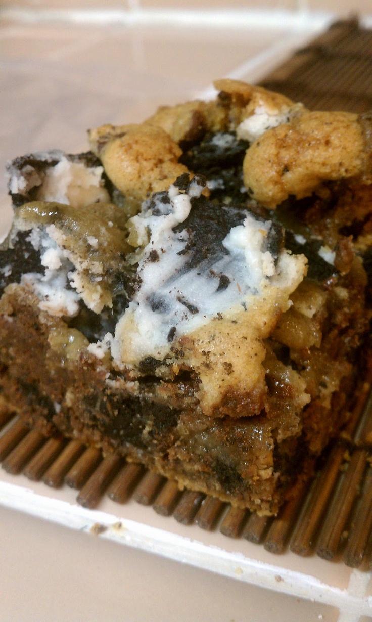 Double Cookies and Cream Bars | Dessert