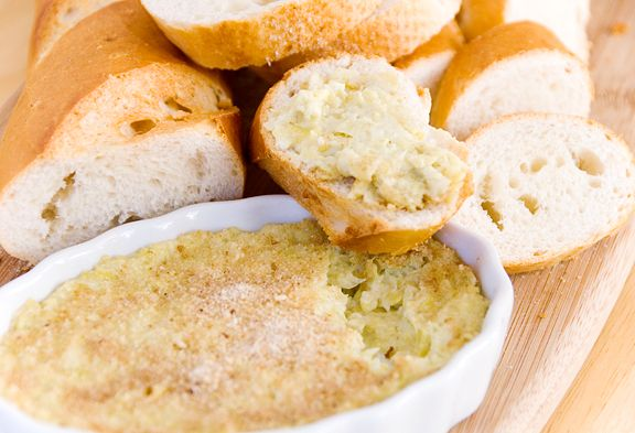 Artichoke Dip 2 cans (12 oz. each) artichoke hearts in water, drained ...