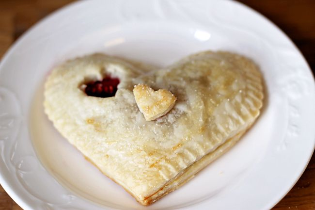 Britnell: Heart Shaped Raspberry Pies   Recipes   Pinterest