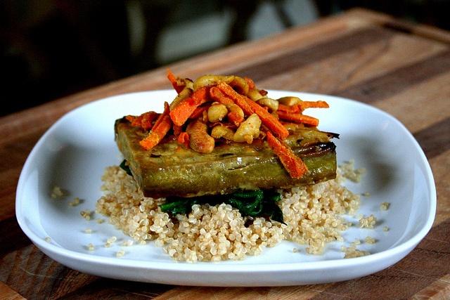 Citrus-Roasted Tofu | Savory vegan food | Pinterest