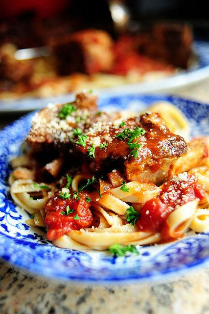 Short Ribs in Tomato Sauce | Food & Recipes | Pinterest