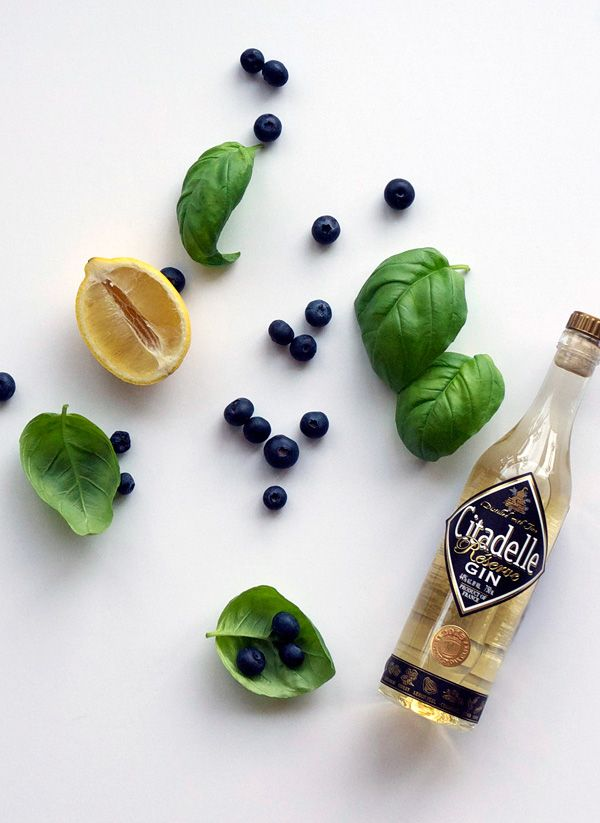 Blueberry Basil Lemon Smash (and some notes on blogging ...
