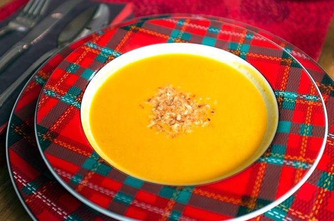 Roasted Red Kuri Squash & Coconut Soup, healthy soup, soup recipe ...