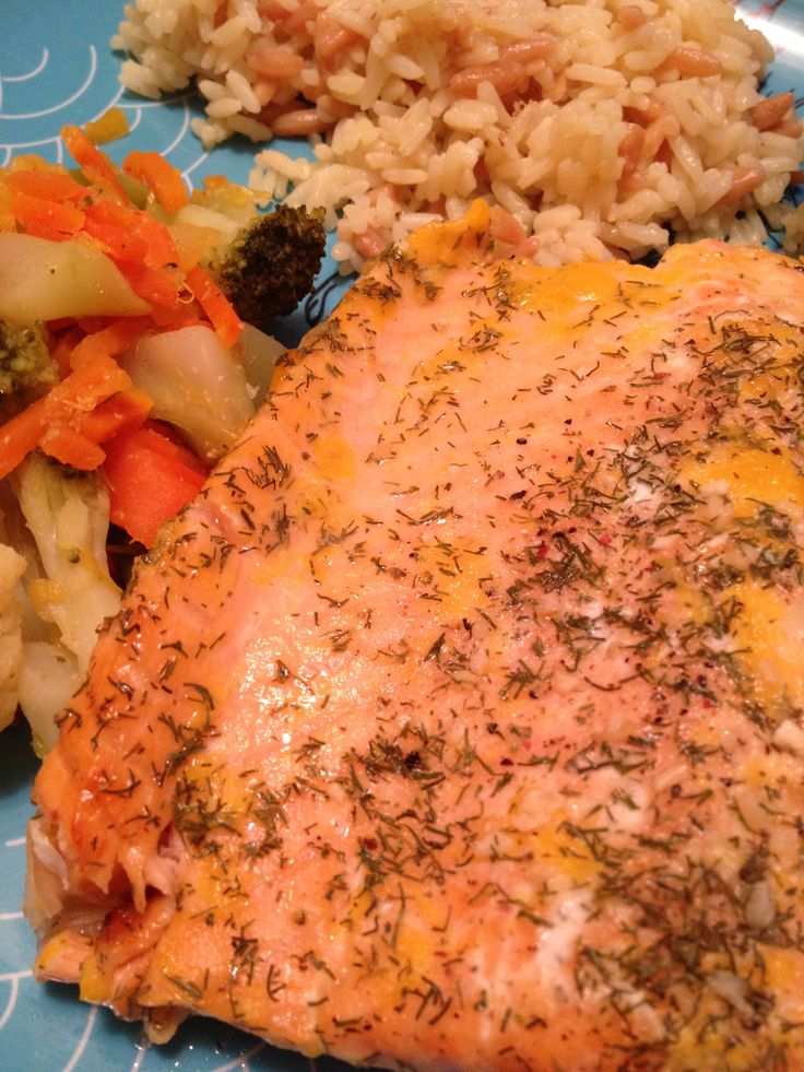 Baked Orange Dill Salmon | no butter | fresh squeezed oranges | fresh ...