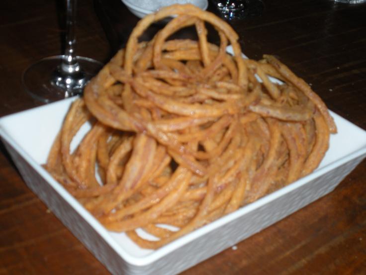 Buttermilk Onion Rings at Strip Steak, Michael Mina's restaurant in ...