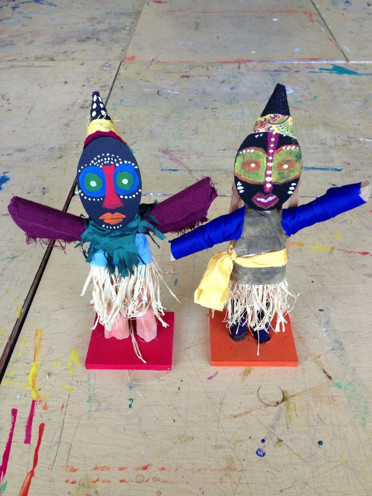 Ivory Coast Stilt Dancers.