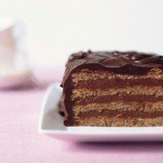 Chocolate Hazelnut Meringue Cake Recipe Ideas - Healthy & Easy Recipes
