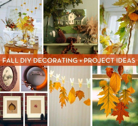 Celebrating fall with 10 diy decorating ideas