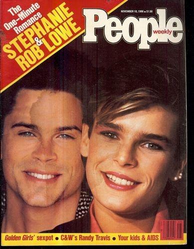 People Magazine Rob Lo...