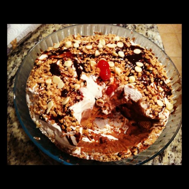 Ice cream pie | Homestyle | Pinterest