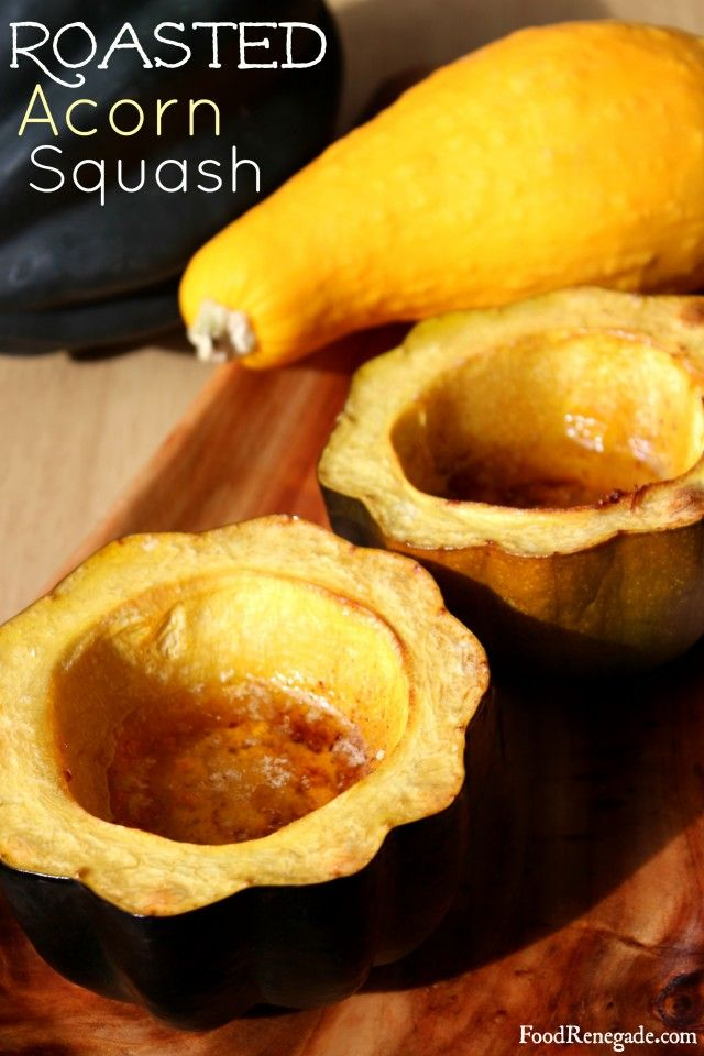 Roasted Acorn Squash, I make this every Thanksgiving, so incredibly ...