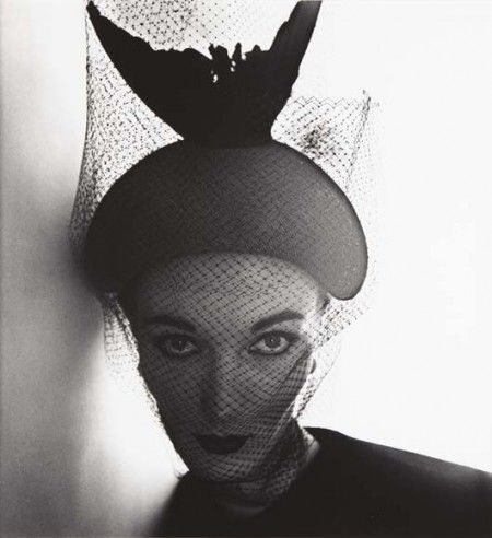 Evelyn Tripp, Crescent Bicorne Hat, Irving Penn, New York, Décembre, 1949