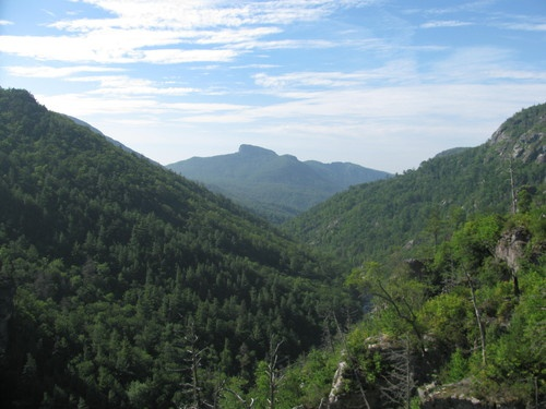 Linville Gorge Wilderness Area, North Carolina - at home! Beautiful but dangerous!