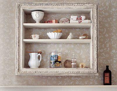 framed shelving