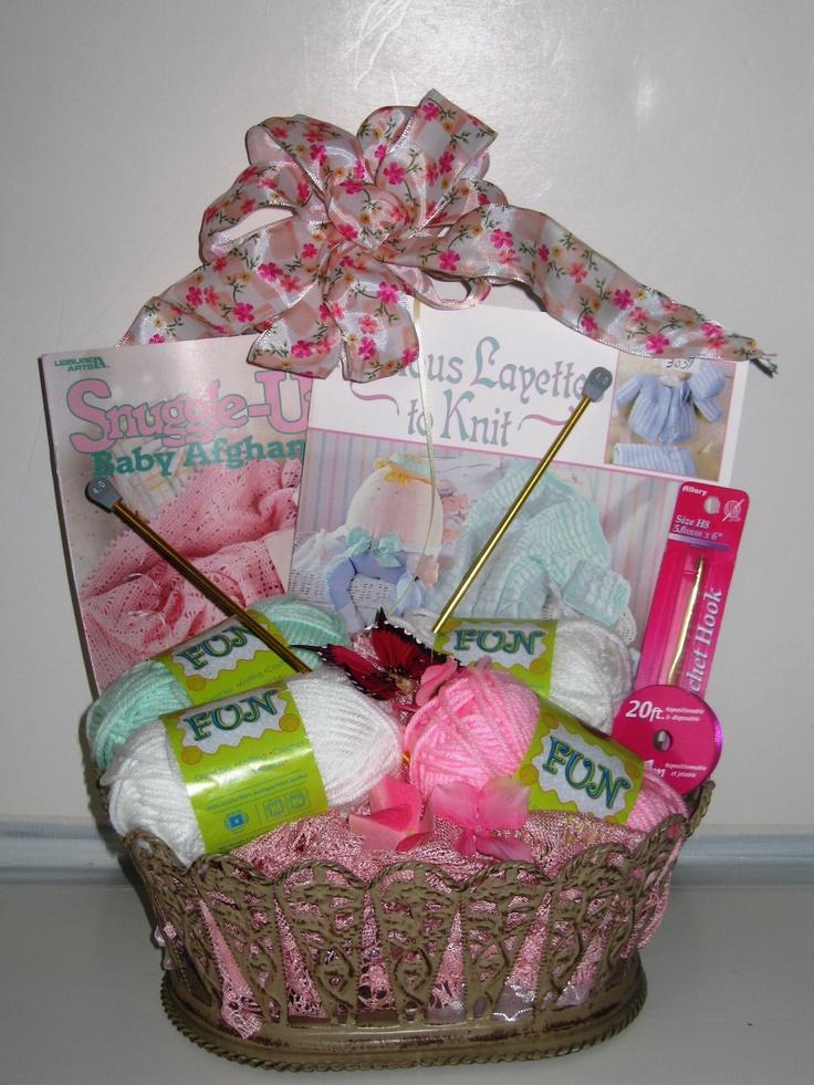 Knitting Gift Ideas : Knitting gift basket devan s for keepsakes pinterest