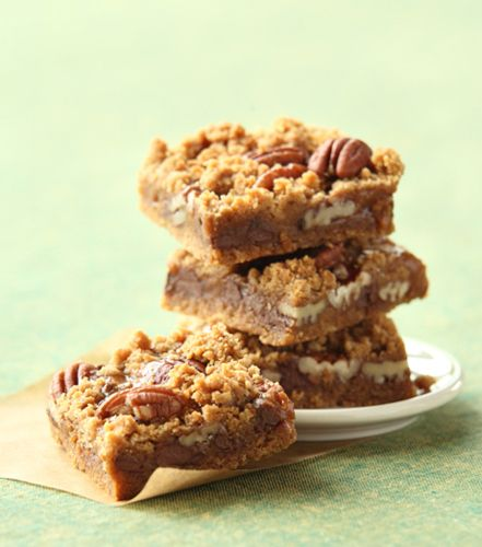 Turtle Bars | Cookies and Bars | Pinterest