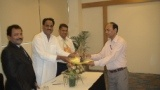 Dr. Pradeep Saxena receiving certificate of Fellowship in minimal access Surgery at World Laparoscopy Hospital. For more detail please log on to www.laparoscopyhospital.com