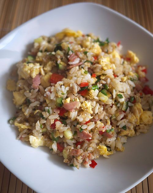Japanese fried rice | Food Ideas | Pinterest